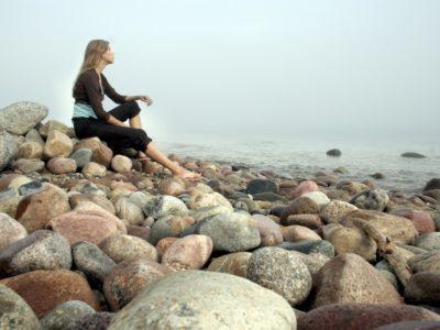 Plaża kamienie