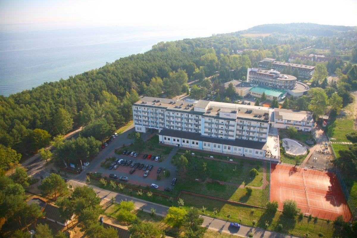 Hotel z lotu ptaka